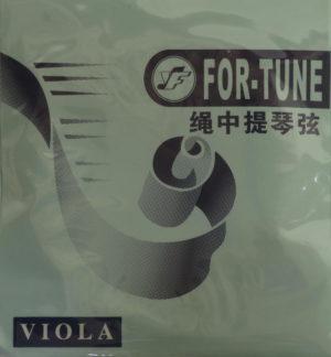 Струны для альта For-tune хром (набор)