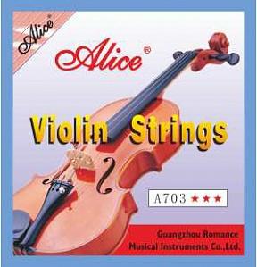 Струны для скрипки Alice А-703A