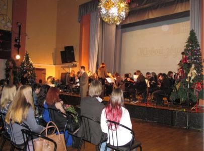 Компания «Горонок» на отчетном концерте музыкальной школы «Виртуозы»
